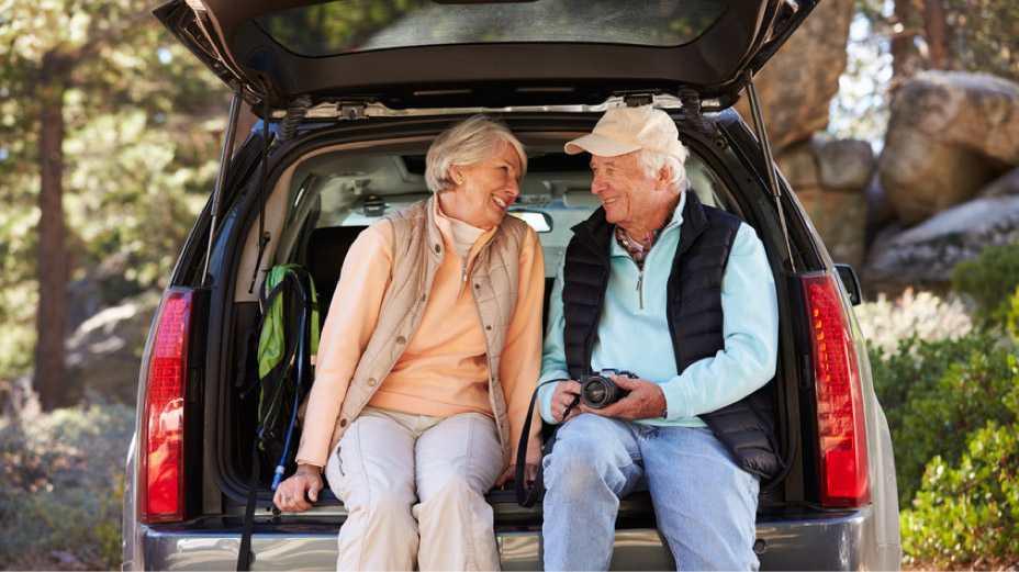 Senioren bei Freizeitbeschäftigung